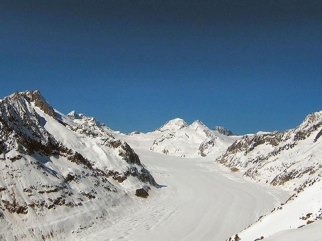 Ski Aletsch Arena by train