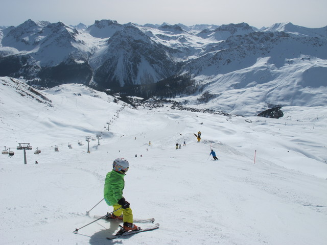 Arosa ski resort