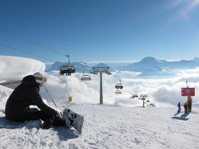 Snowboard belalp