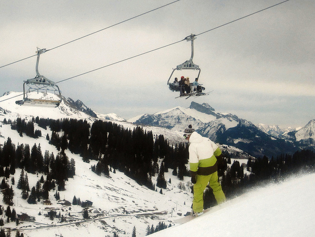 New lifts in Portes du Soleil