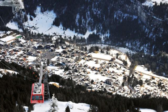 Snowboard champery-portesdusoleil