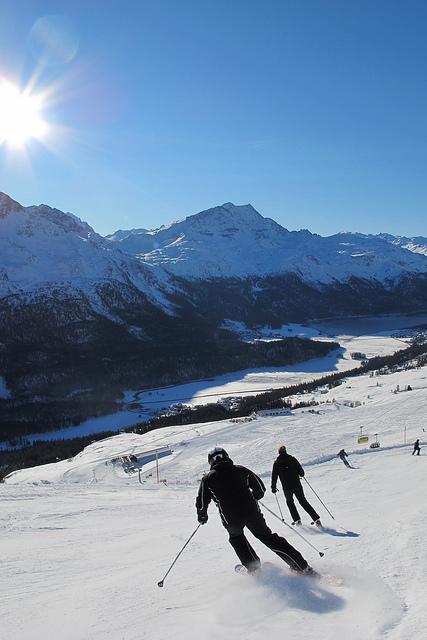 Snowboard corviglia