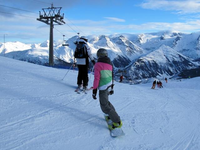 Snowboard disentis