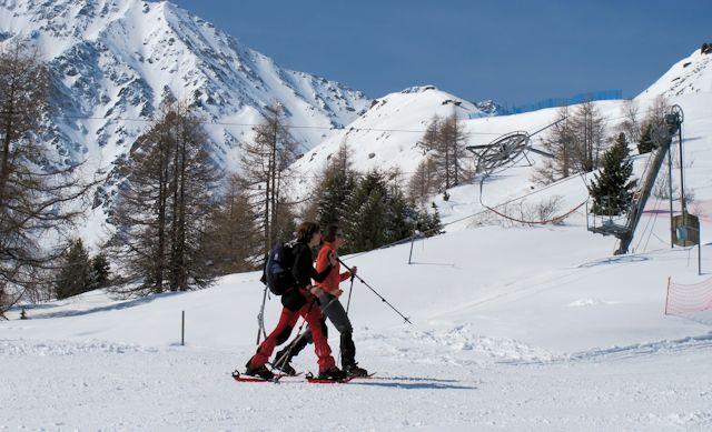 Snowboard evoleneregion
