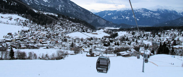 Ski Flims Laax Falera by train