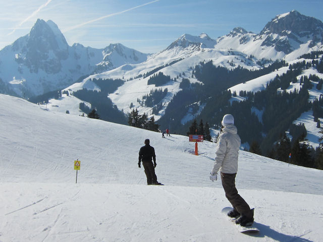 Gstaad slopes