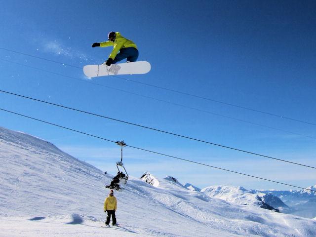 Snowboard hoch-ybrig