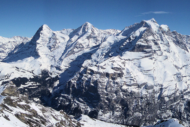 The Jungfrau Winter Sports Region