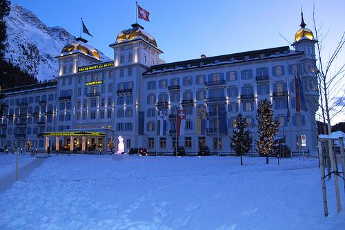 Hotel Kempinski in St Moritz