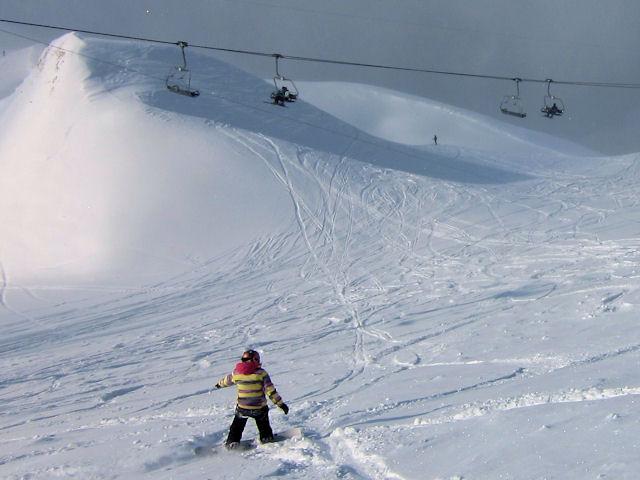 View of winter sports resort in Nidwalden
