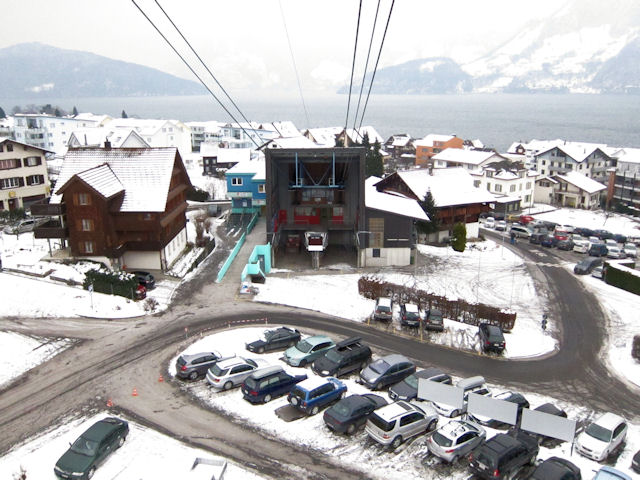 Snowboard klewenalp