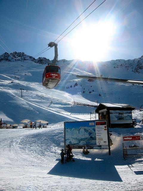 Snowboard lenzerheide