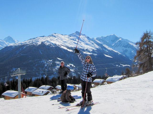 Ski and Snowboard Les Masses