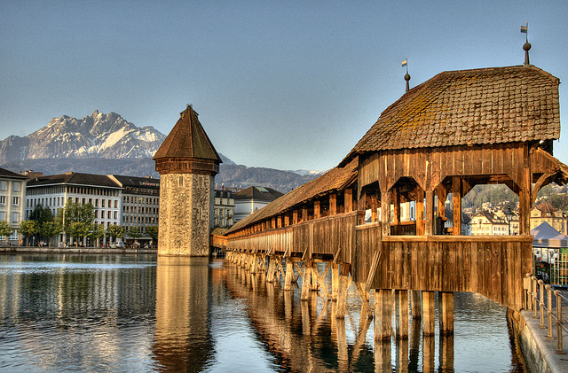 Historic Luzern in the heart of the Alps
