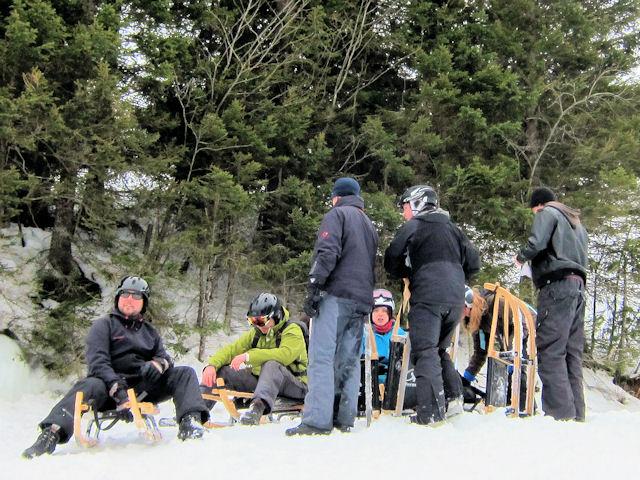 Snowboard melchsee-frutt