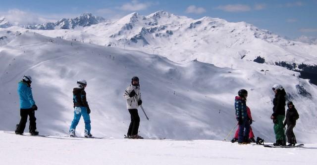 Snowboard obersaxen