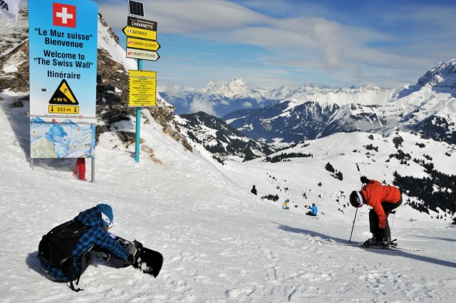 Snowboard regionchablais