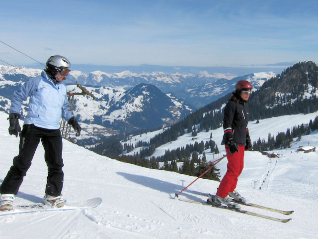 Ski and Snowboard Saanenmöser