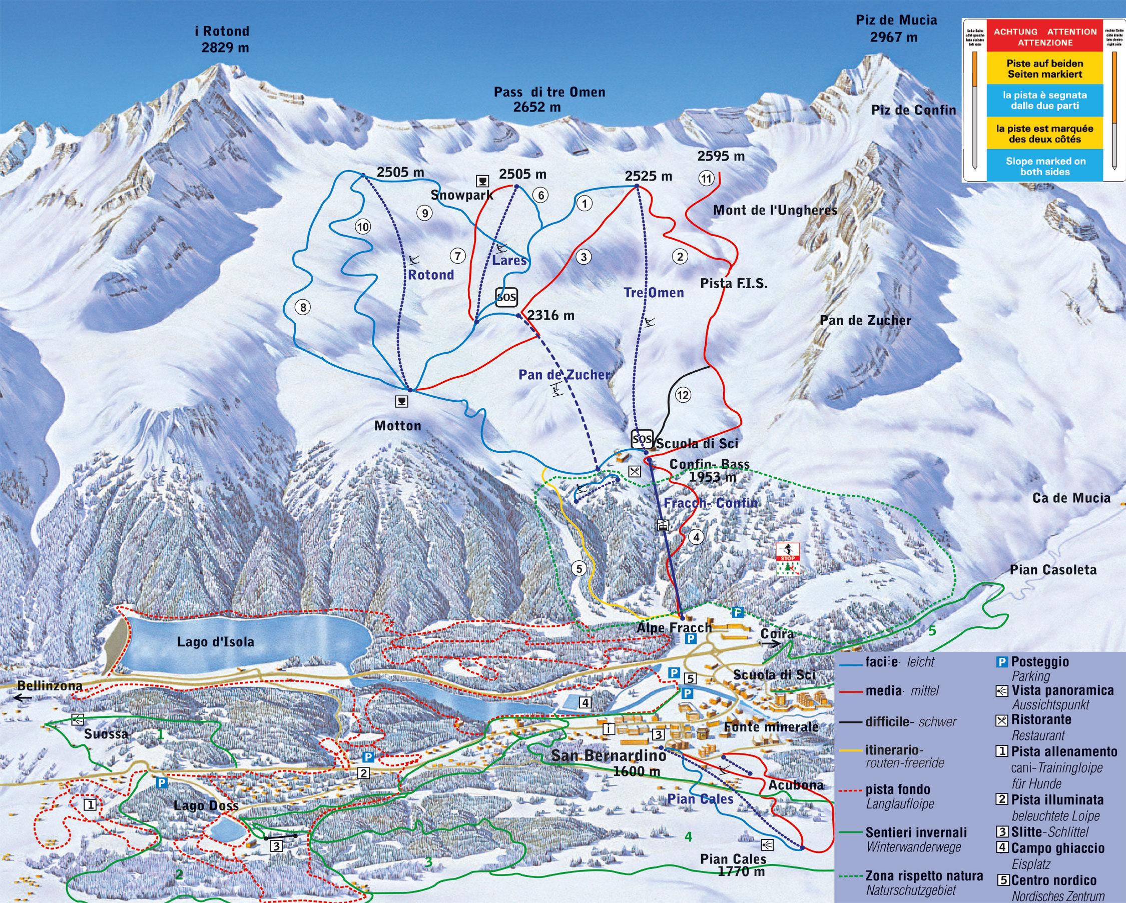 Ski and snowboard San Bernardino - winter sports in and near San ...