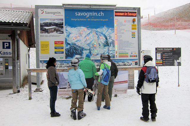 Ski and Snowboard Savognin