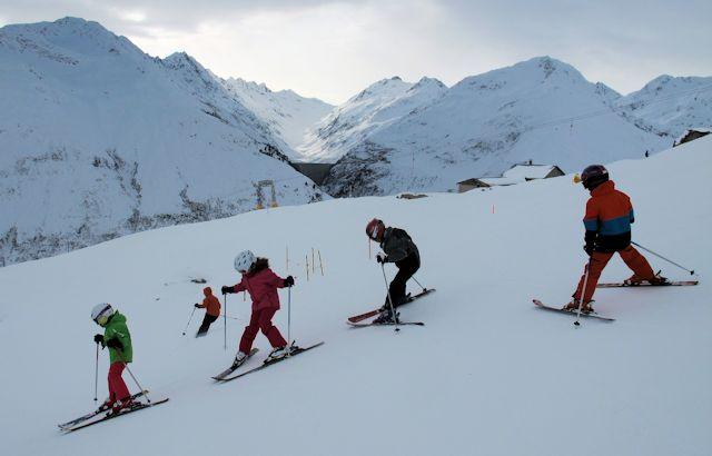Snowboard sedrun