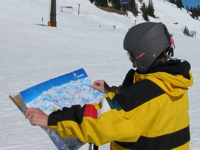 Learn German to navigate the slopes more effectively
