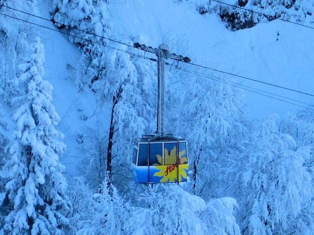 Snowboard stoos