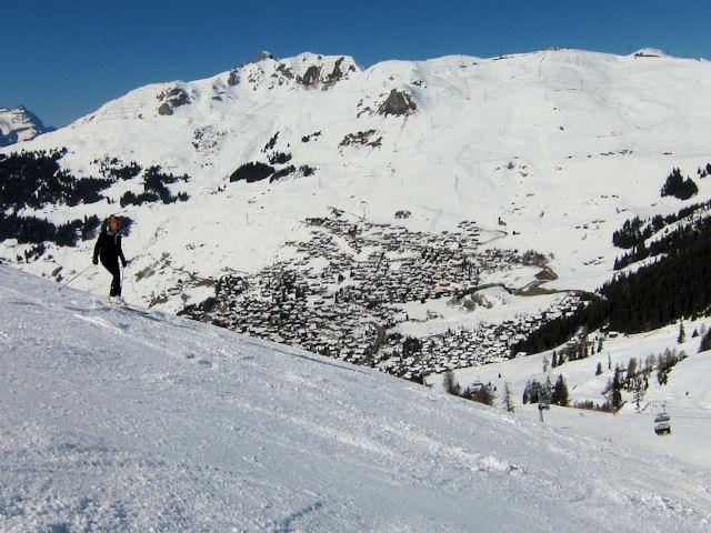 Snowboard verbier