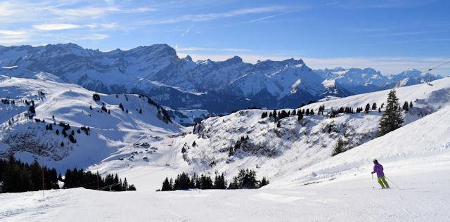 Ski and Snowboard Villars