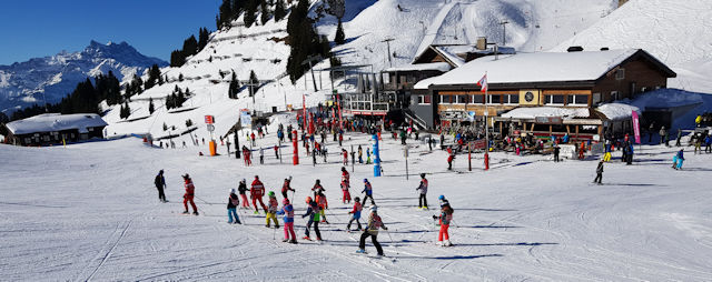 Villars is a family-friendly resort