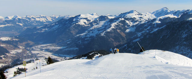 Ski the Simmental valley