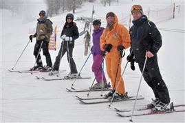 Snowboard and Ski bergun (c) Nic Oatridge