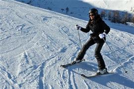 Ski zellamziller by train (c) Nic Oatridge