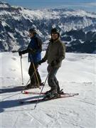 Snowboard and Ski tschiertschen (c) Nic Oatridge